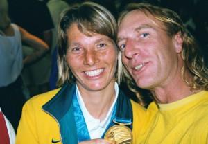 Jenny Armstrong,  Women's 470 Class, Sydney 2000