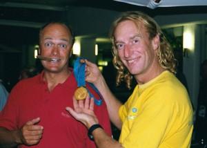 Jesper Bank, Soling Denmark, Sydney 2000